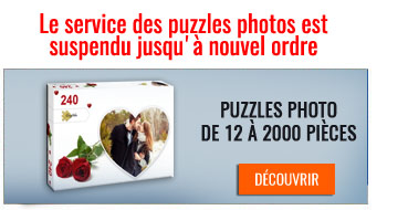 Puzzles Photo - Service suspendu